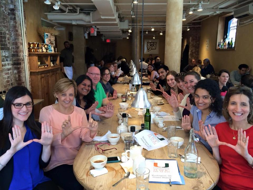 Public Health Alumni in DC Brunch, March 2015