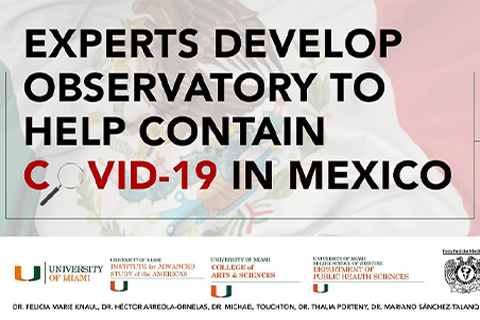 Experts Develop Observatory to Help Contain COVID-19 in Mexico
