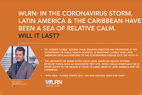 Dr. Hermes Florez Interview with WLRN